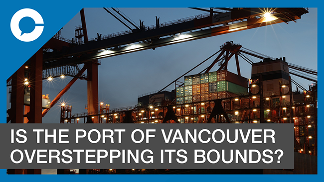 Stu sits down with Doron Grosman for a conversation about a potential conflict of interest at the Port of Vancouver.